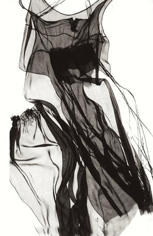 Kleid, transparente Viskose
