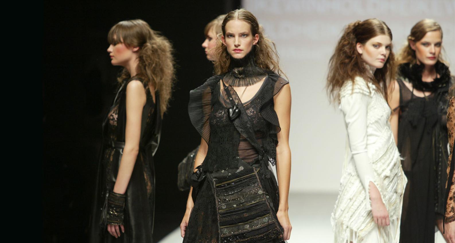 Heike Winhold, Modedesign, Modenschau